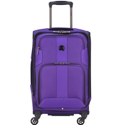 "Delsey Sky Max 21"" Expandable Spinner Carry On"