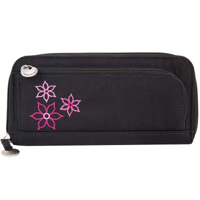 Travelon RFID Blocking Bouquet Zip-Around Wallet