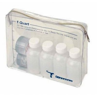 Travelon 1-Quart Zip-Top Bag TSA  Plastic Bottles
