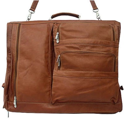Piel Leather Executive Expandable Garment Bag