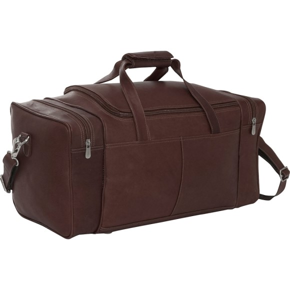 Piel Leather Small 17 inch Duffel Bag