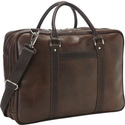 Piel Vintage Leather Laptop Brief