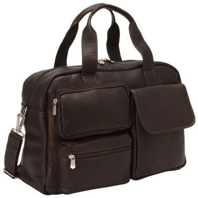 Piel Leather Multi-Pocket Carry-On