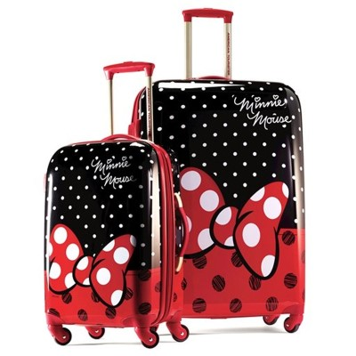"American Tourister Disney Minnie Mouse 21"" & 28"""